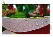 Photinia Veins Carry-all Pouch