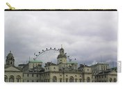 Photo Of London With London Eye In The Background Carry-all Pouch
