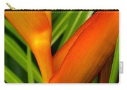 Photograph Of A Parrot Flower Heliconia Carry-all Pouch