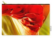 Photograph Of A Red Ginger Flower Carry-all Pouch