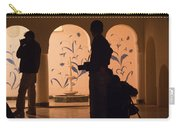 Photographers In Silhouette At A Heritage Building In Rajasthan In India Carry-all Pouch