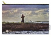 Photographing Seaside Life Carry-all Pouch by Douglas Barnard