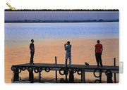 Photographing The Sunset Carry-all Pouch