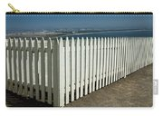 Picket Fence By The Cabrillo National Monument Lighthouse In San Diego Carry-all Pouch