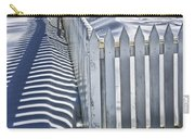 Picket Fence In Winter Carry-all Pouch