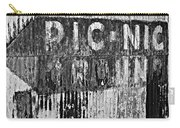 Picnic Ground Monochrome Carry-all Pouch