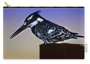 Pied Kingfisher Carry-all Pouch