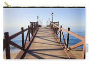 Pier On Costa Del Sol In Marbella Carry-all Pouch