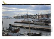 Piers Of Oslo Harbor Carry-all Pouch