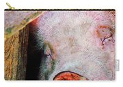 Pig Sleeping Carry-all Pouch