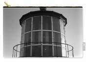 Pigeon Point Lighthouse Beacon - Black And White Carry-all Pouch