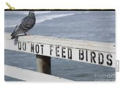 Pigeons Cannot Read Carry-all Pouch