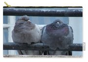 Pigeons Perching Carry-all Pouch