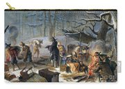 Pilgrims: First Winter, 1620 Carry-all Pouch