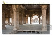 Pillars Of Building Inside Red Fort Carry-all Pouch