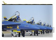 Pilots Of The Blue Angels Flight Carry-all Pouch