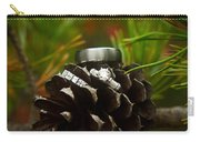 Pine Cone And Wedding Band Carry-all Pouch