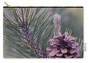 Pine Cone At Sundown Carry-all Pouch
