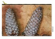 Pine Cones And Leaves Carry-all Pouch