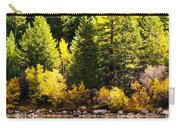 Pine Reflection At Georgetown Lake Colorado Carry-all Pouch