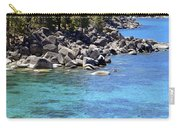 Pines Boulders And Crystal Waters Of Lake Tahoe Carry-all Pouch