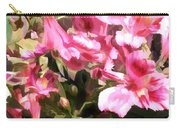 Pink Alstroemeria  Carry-all Pouch