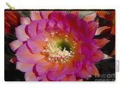 Pink And Orange Cactus Flower Carry-all Pouch
