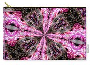 Pink And Purple Gemstones Jewelry Kaleidoscope Carry-all Pouch