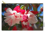 Pink And Red Fuchsia Carry-all Pouch