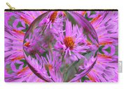 Pink Asters Energy Carry-all Pouch