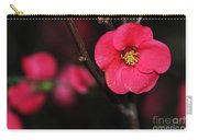 Pink Blossom In The Evening Carry-all Pouch