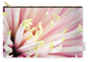 Pink Chrysanthemum Carry-all Pouch