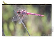 Pink Dragonfly In The Marsh Carry-all Pouch