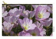 Pink Evening Primrose Wildflowers Carry-all Pouch