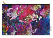 Pink Floral Abstract Carry-all Pouch