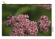 Pink Flower Cluster Carry-all Pouch