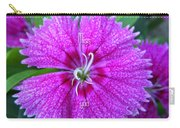 Pink Flower Miss You Carry-all Pouch