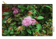Pink Flowers Of Little Bavaria Carry-all Pouch