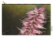 Pink Fuzzy Carry-all Pouch