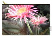 Pink Gerber Daisies Carry-all Pouch