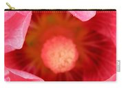 Pink Hollyhock 2 Carry-all Pouch