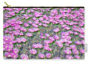 Pink Ice Plant Flowers Carry-all Pouch