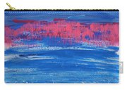Pink In Sky Over Whitecaps Carry-all Pouch