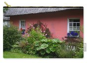Pink Irish Cottage Carry-all Pouch