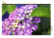 Pink Mophead Hydrangea Carry-all Pouch