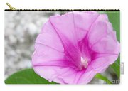 Pink Morning Glory Flower Carry-all Pouch