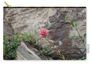 Pink Mountain Flower Carry-all Pouch