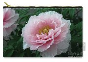 Pink Peony Flowers Series 2 Carry-all Pouch