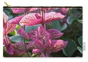 Pink Periwinkle Carry-all Pouch