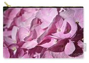 Pink Petal Pushing Carry-all Pouch